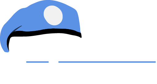 blå baretter logo